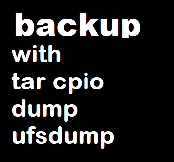 Backup Commands in Linux & Unix with Usage and Examples