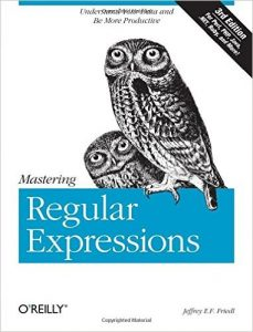 Mastering Regular Expressions